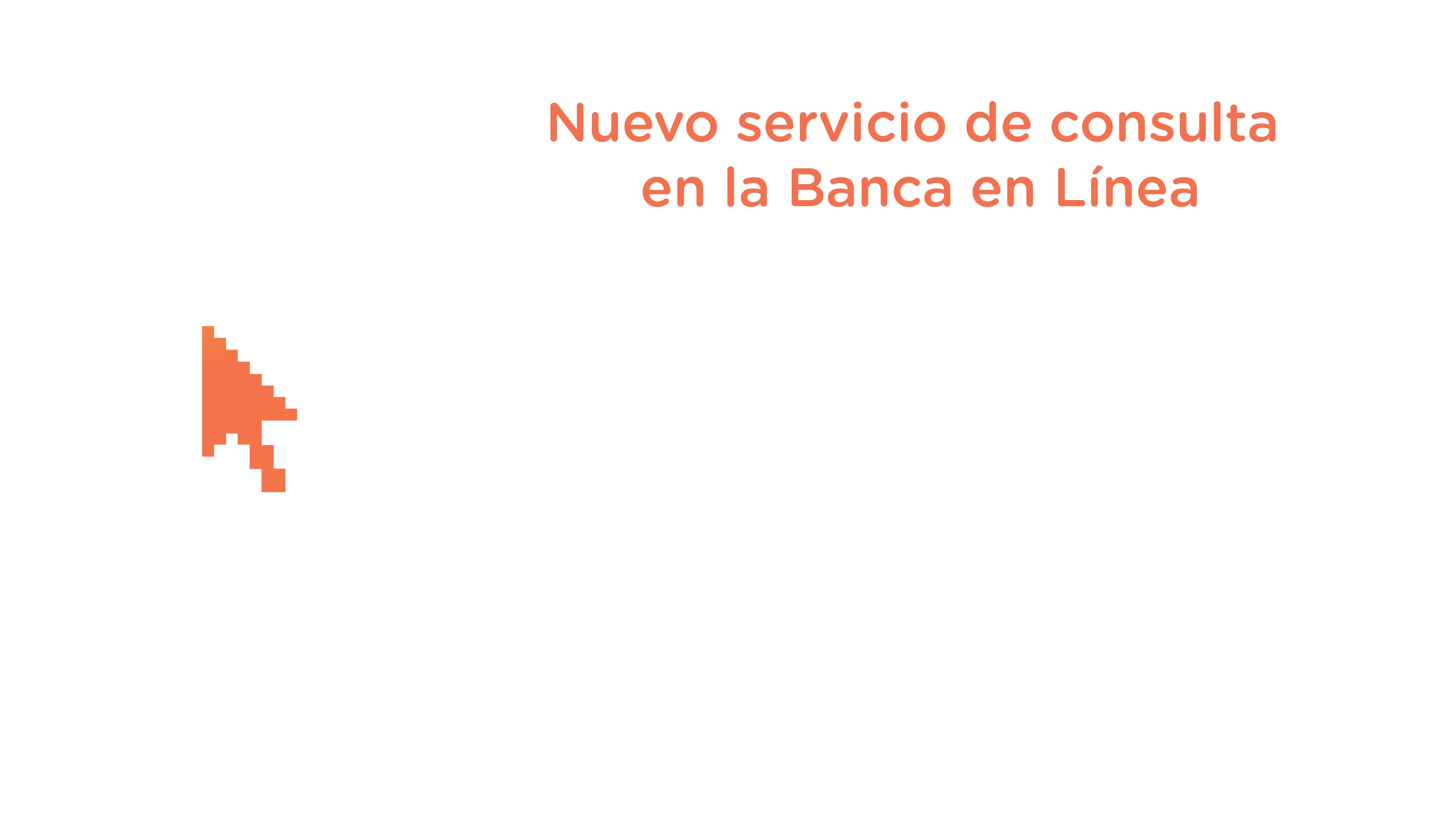 Nuevo servicio Banca en Línea